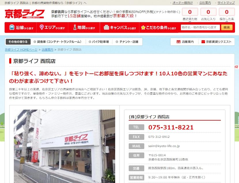 京都ライフ 西院店の口コミ・評判